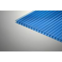 Поликарбонат сотовый синий